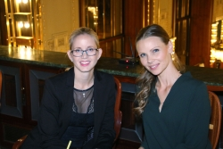 Miss Golf Kateřina Marounková a Markéta Anderle