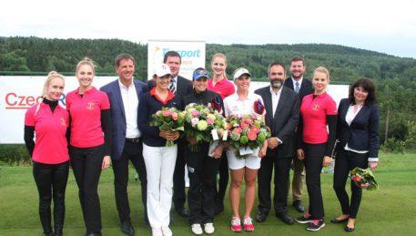 Vítězka Madsen, druhá Albane Valenzuela a Karolína Vlčková